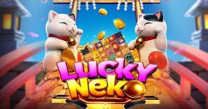 รีวิวเกมค่าย PG : Lucky Neko แมวนำโชค