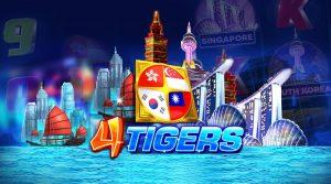 รีวิวเกมค่าย Joker : Four Tigers 4 พยัคฆ์เอเชีย