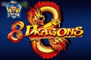 รีวิวเกมสล็อต PP : 8 Dragons 8 มังกร