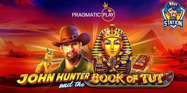 รีวิวเกมสล็อต PP : John Hunter and the Book of Tut จอห์นฮันเตอร์และหนังสือฟาโรห์