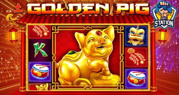 รีวิวเกมสล็อต PP : Golden Pig หมูทอง