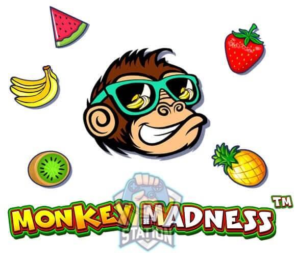 รีวิวเกมสล็อต PP : Monkey Madness สล็อตลิงจ๋อ