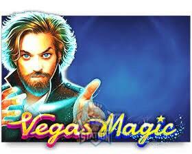 รีวิวเกมสล็อต PP : Vegas Magic มายากลเวกัส